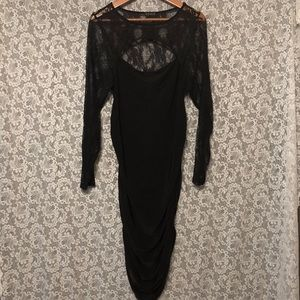 Venus black dress NWOT.. size XL